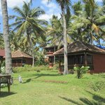 Bungalows in the gardens.