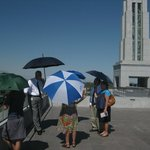 Rooftop of LDS Center