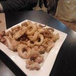 calamari fritti.