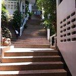 trappor upp till vånig 3