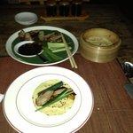 Peking Duck Pancakes - very delicious!