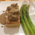 Chicken liver vol-au-vent