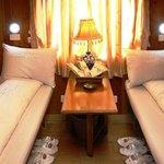 Sapa Train Cabin Soft Sleeper with 4 beds