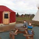 Red Yurt!