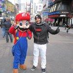 With Super Mario!