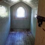 Original isolation cell. Don't worry! The actual rooms are much nicer!
