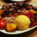 The Mixed Grill Kebab Platter - Plenty for 2 to share!