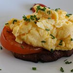 Delicious scrambled egg