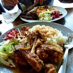 My flavoursome Tavuk chicken, loved it!