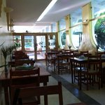 Ambiente interno para refeições