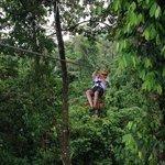 Desafio Arenal cloud forest zip line