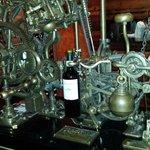 Bottle corker.  Fantastic piece of engineering.