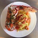 Lobster tagliolini!