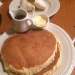 Pancakes as large as they appear...lol