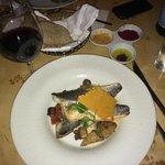 Filetto di sea bass con verdure