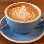 Artistic latte