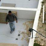 Blick auf Renovierungsarbeiten in den Appartments