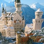 Castelo de Neuschwanstein- Conto de Fadas