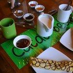 кафе при музее шоколада Куско