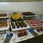 Selection of desserts