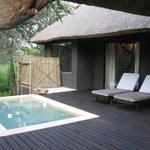 River Lodge - Private Deck