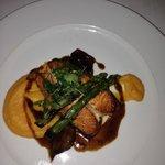 Main Meal in Cedars Grill