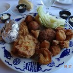 Fried Seafood Platter at the Restaurant at Smithfield Station