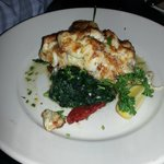 Chilean Sea bass (with jumbo lump crab gratin)