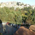 Veduta su Perugia.
