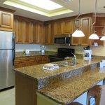 our villa kitchen