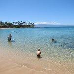 Napili Bay beach, 30 seconds away