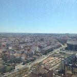 Het uitzicht van de 25ste verdieping