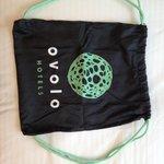 Ovolo swag: re-usable bag