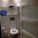 Modern, clean bathroom