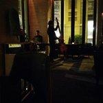 Lobby lounge with live jazz