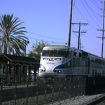 Amtrak Coastal Train at Old Town Station