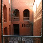 The central courtyard.