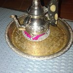 I recommend getting the Morroccan Tea at the shisha cafe