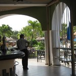 bar on the plaza