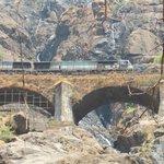 Train at Waterfalls