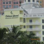 Pelican Grand from beach