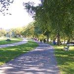 Parc des Champs-de-Bataille, piste multifonctionnelle située près du Musée national des Beaux-Ar