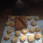 mothers day doggy bag! Gluten  & dairy free biscuits made to take home by Christina Dugard, head