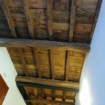 Rustic high ceilings