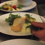 Salmon Hollandaise