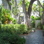 Walkway to Gardens