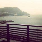 vista al mar. dia de lluvia :)