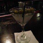 A 5 olive martini