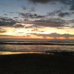 Sunset at Avellanas Beach