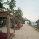 Cosy beach beds